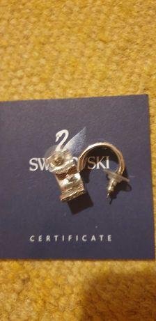 Обеци на марката Swarovski