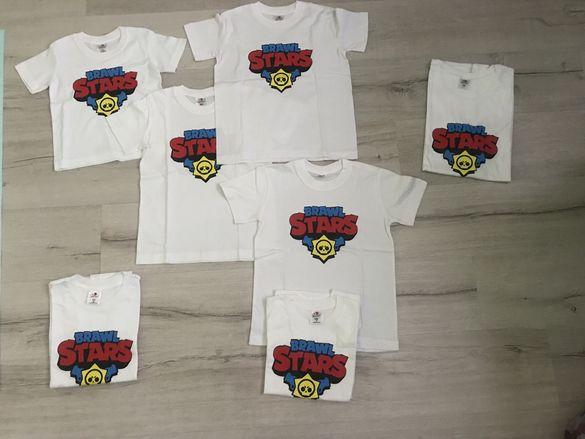 Тениски BRAWL STARS 3г, 6г, 8г, 9-10г