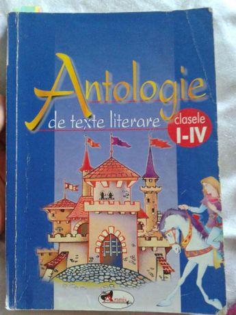 Antologie de texte literare clasa I-IV