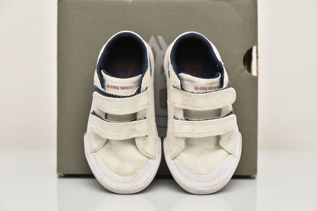 Pantofi sport tenisi copii textil Le Coq Sportif marime 23 EU 14cm