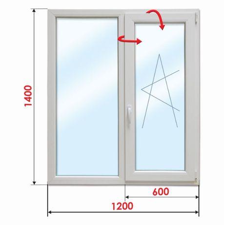 ПВЦ Прозорец 1200х1400