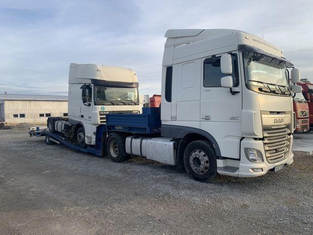 Trailer de inchiriat/Inchiriez trailer pentru cap tractor sau depanari