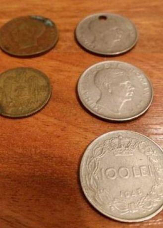 Monezi vechi regele Carol si Mihai, pentru colectionari