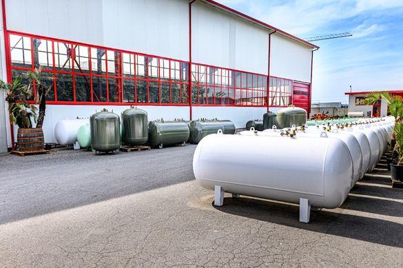 Цистерни,газови резервоари LPG Пропан бутан