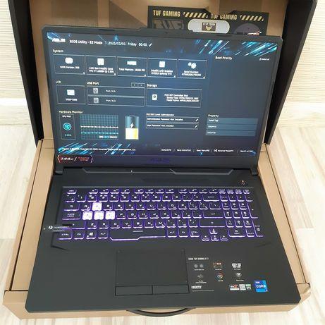 Новый Игровой Asus i7 11800H / 16ГБ / 512SSD / RTX3060 6ГБ / 17.3