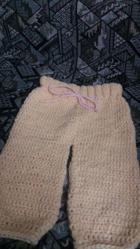 Pantalonasi crosetati copil
