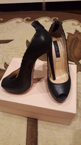 Pantofi piele decupati Cristhelen B nr 38