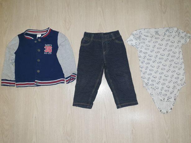 Carters оригинал Набор джинсы куртка боди