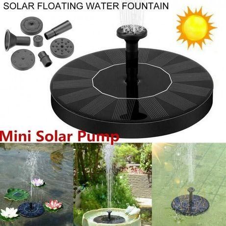 Соларен фонтан за градина