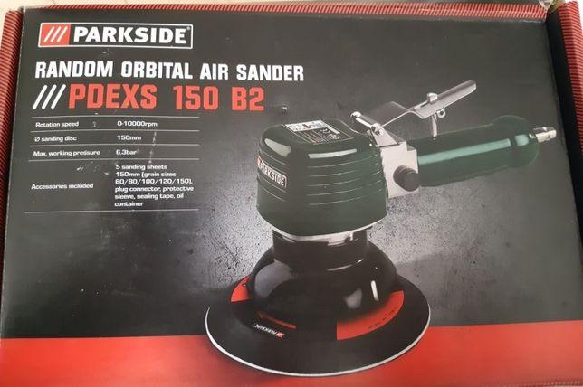 Random Orbital Air Sander cu accesorii Nou