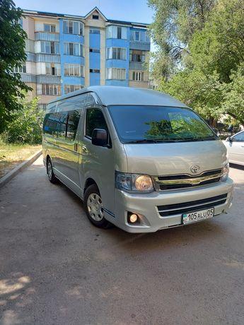 Перевозка пассажиров трансфер развозка аренда услуга микроавтобус.Хайс