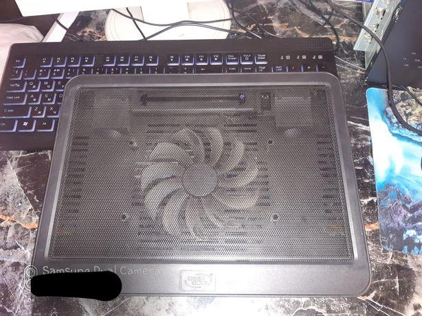 Подставка под ноутбук DeepCool + сумка под нетбук или планшет