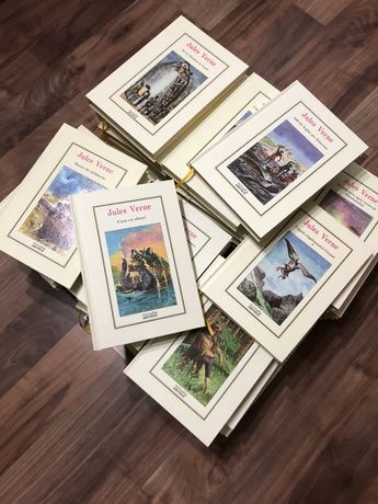 Colectie Adevarul Jules Verne Completa - Stare impecabila