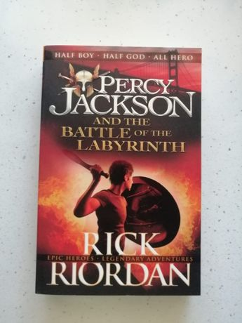 Carte adolescenți/fantasy Percy Jackson & the battle of the labyrinth