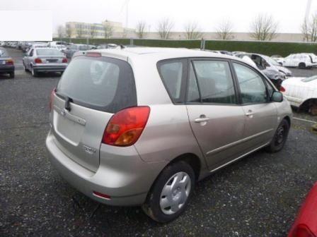 Toyota corola verso/Тойота Корола Версо На Части