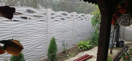Garduri de beton Timișoara