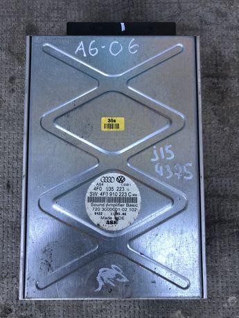 Amplificator Audio Stație Sunte Audi A6 C6 4F An 2005 2011