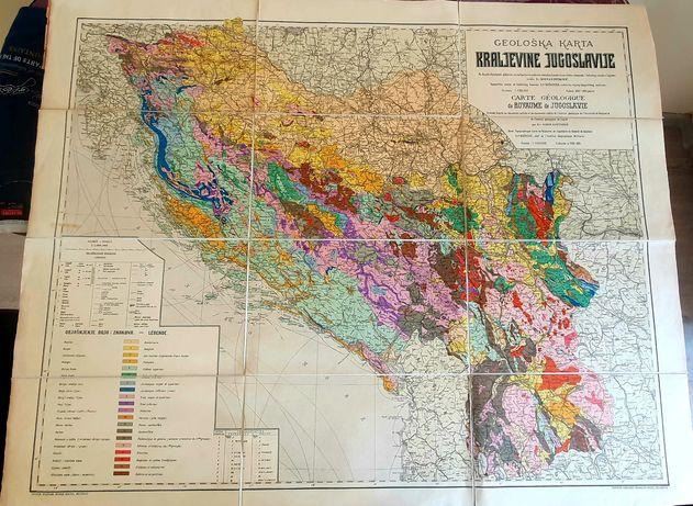 Harta Iugoslavia