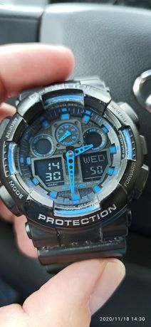 Мъжки часовник Casio G-Shock GA-100-1A2