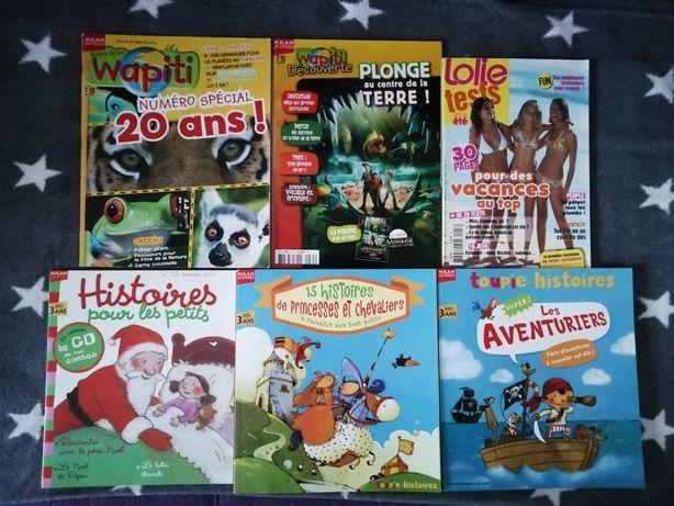 Reviste rare pentru copii în limba franceza Wapiti Milan