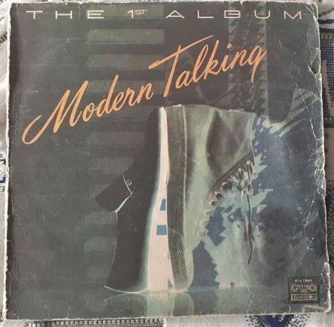 Продам пластинку Modern Talking The 1st Album. Балкантон!