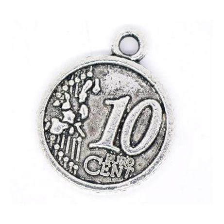 Medalioane de colectie in forma de banuti de 10 eurocenti