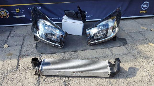 Opel Vivaro A - B, faruri, aripi, radiatoare, motorare