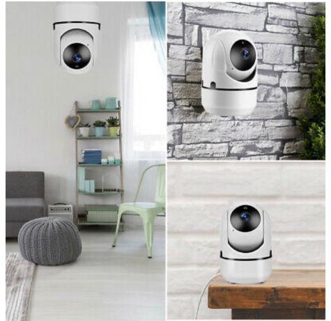 WiFi IP Камера Въртяща се 360° Full HD с Нощно Виждане