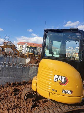 Inchiriez excavatoare buldoexcvataoare si miniexcavatoare
