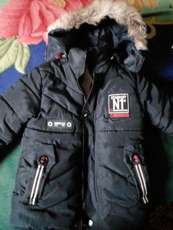 Куртка зимняя в хорошем состоянии