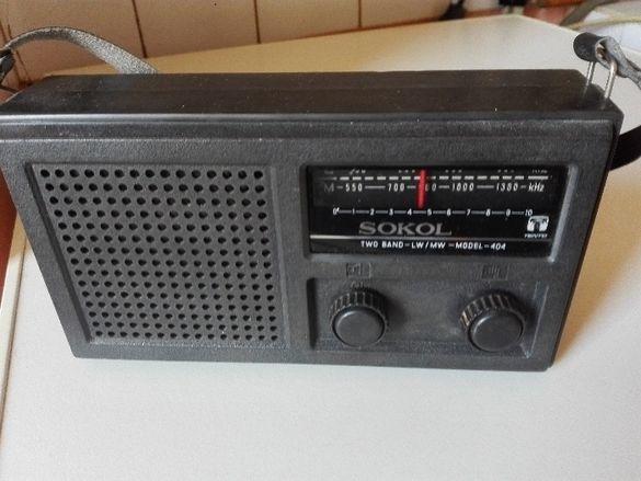 Старо радио Сокол и Unitra Biwak 401 .