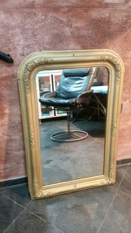 Намалено Старинно огледало с дърворезба