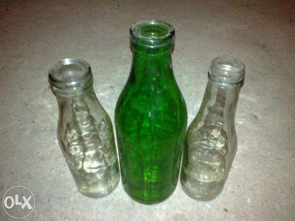 Стъклени бутилки различни