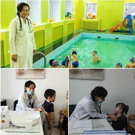 Детский массаж с выездом от педиатра