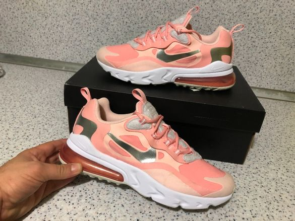 "ОРИГИНАЛНИ *** Nike Air Max 270 React / "" Coral Pink """