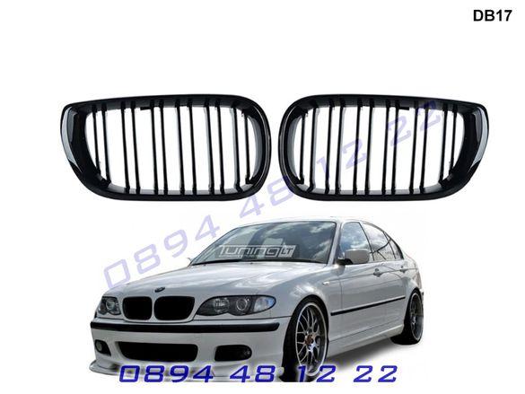 Двойни M3 M Бъбреци Решетки BMW E46 FACE Седан Комби БМВ Е46 Гланц М3