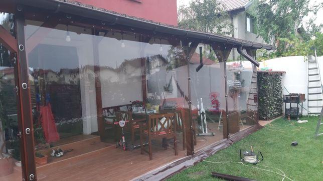Sisteme rulou transparent/Inchider Foisoare/ Terase/Balcoane