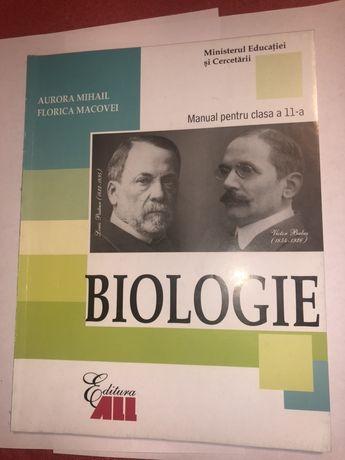 Vand manual biologie clasa a 11a, editura All