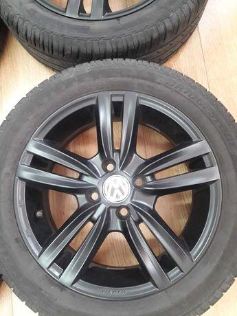 Jante 15 VW UP SKODA CITIGO SEAT Mii cu anvelope vara 185/55/15 5-6 mm