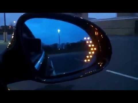 Semnalizari suplimentare cu 14 SMD-Led ascunse in oglindă