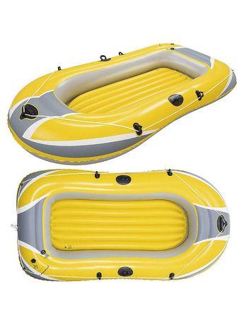 Нов в упаковке лодка надувная 2 местная,240 см на 140 см.