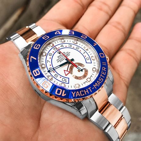 Rolex Yacht-Master silver gold rose