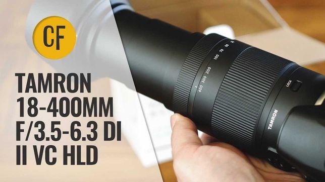 Obiectiv Foto 18-400mm F/3.5-6.3 Di II VC HLD Tamron Nikon. Promo **