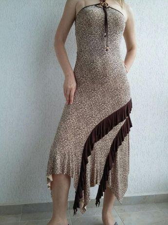 НАМАЛЕНИЕ! елегантна асиметрична рокля + ПОДАРЪК