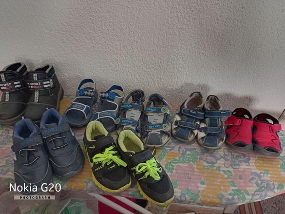 Детски Обувки,отворени и затворени