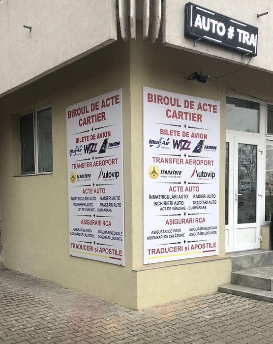 Biroul de acte Cartier , Acte Auto ,Bilete de avionTraduceri,Aposti Vaslui - imagine 1
