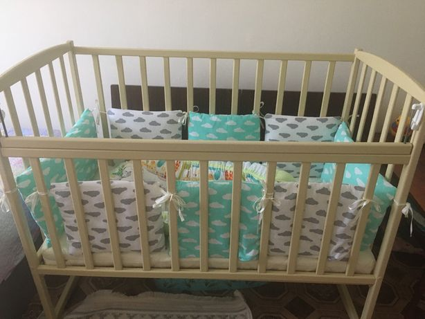 Продам кроватку и кокон
