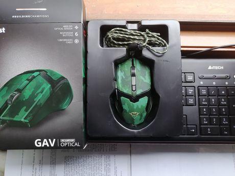 Mouse gaming Trust GAV Jungle Camo Tastatura Multimedia A4Tech