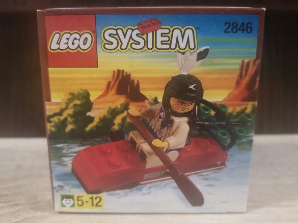 НОВО LEGO ЛЕГО - 2846 Indian Kayak от 1997 г.
