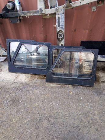 раздвижные окна на боковые двери Уаз Хантер